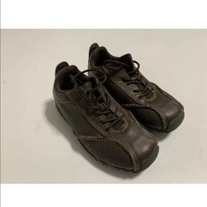 Timberland Boys Size 10 48811M Shoe Brown Leather